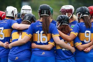 Sports and Recreation - Tipperary Hurling Players Huddle